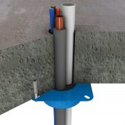 fire rated collar, promat pipe collar, fire stop collar