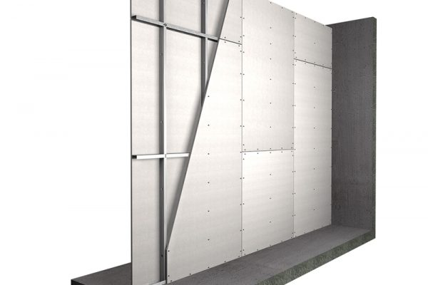 lightweight fire walls from Promat