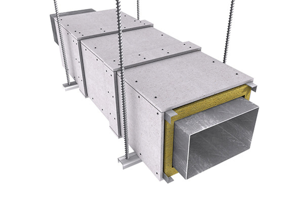 fire rated duct fire protect ductwork and cable trays promatect