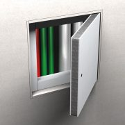 Hinged Wall Fire Access Panels from Promat