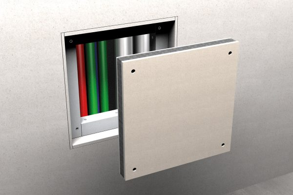 Promat shaft wall access fire rated panels