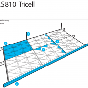 SAS810 Tricell Tech Drawing