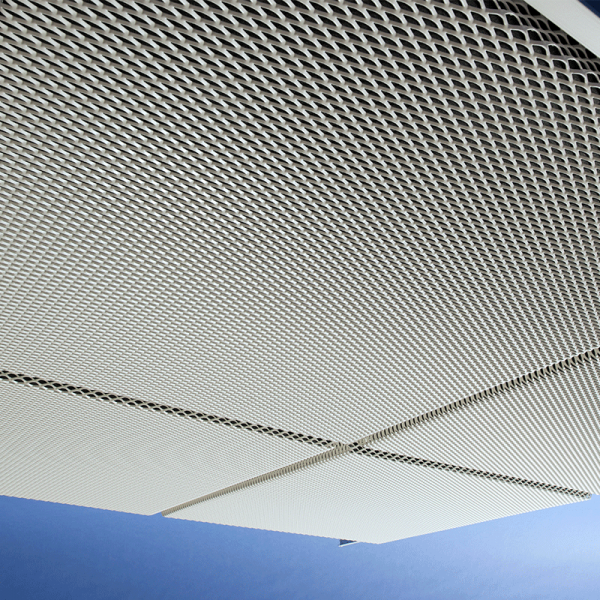 expanded mesh architectural feature