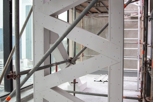 Structural Steel Fire Protection using Promat